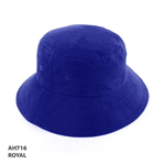 Kids Bucket Hat Heavy Brushed Cotton