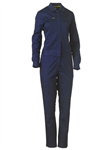 Bisley Ladies Cotton Drill Coverall