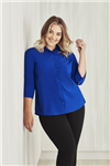 Biz Collection Ladies Easy Stretch Plain Shirt 34 Sleeve