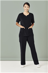 Bizcare Ladies Easy Fit  Round Neck Scrub top