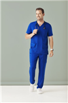 Bizcare Mens Traditional VNeck Scrub top