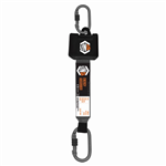 Linq Essential Retractable Shock Abs Lanyard 25M