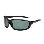 Bolle Prowler Gloss  Black Frame Green Polarised Lens
