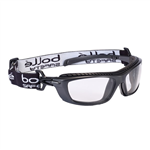 Bolle Baxter Positive Seal Safety Glasses Clear with Strap
